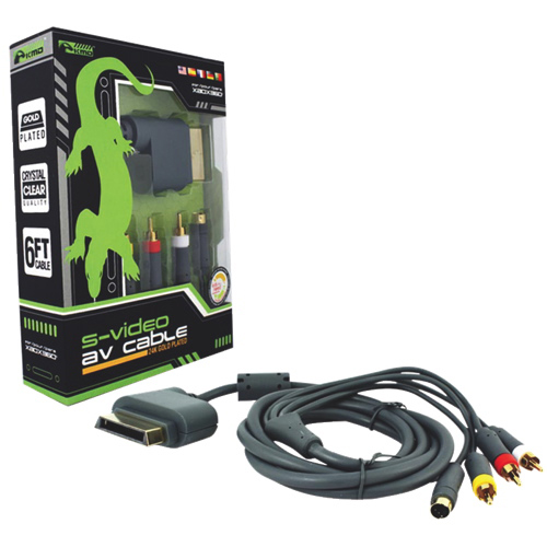Komodo S-Video/AV Cable for Xbox 360