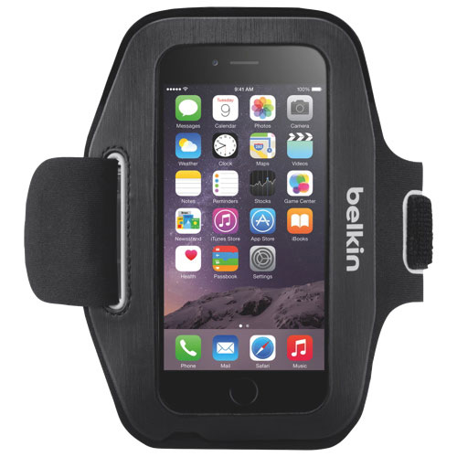 Belkin Sport-Fit iPhone 6/6S/7/8 Armband Case - Black