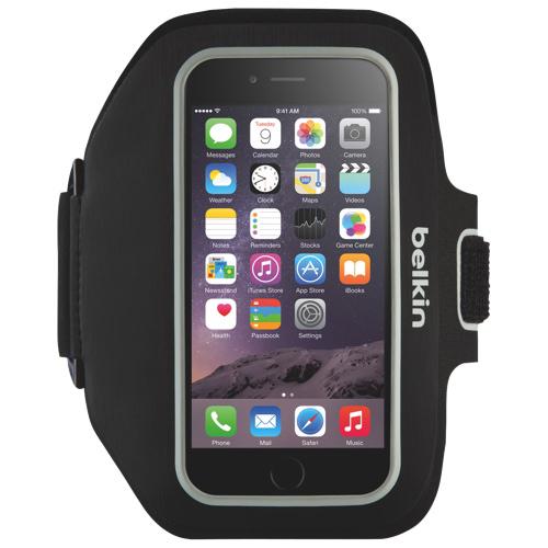 Brassard Sport-Fit Plus de Belkin pour iPhone 6/6S/7/8 - Noir