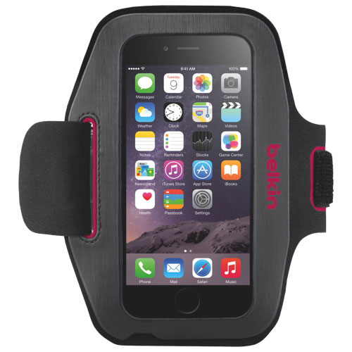 Belkin Sport-Fit iPhone 6/6S/7/8 Armband Case - Gravel