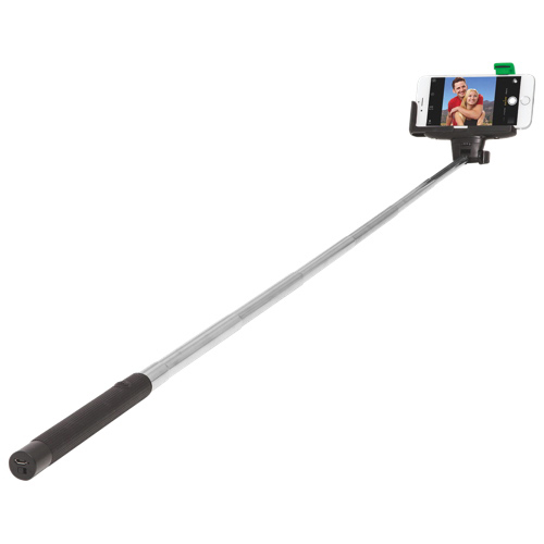 retrak bluetooth selfie stick monopod black monopods best buy canada. Black Bedroom Furniture Sets. Home Design Ideas