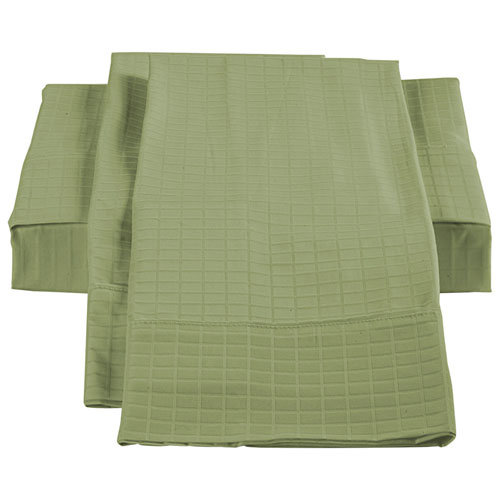 The St. Pierre Home Bamboo/Cotton Duvet Cover Set - Queen - Sage