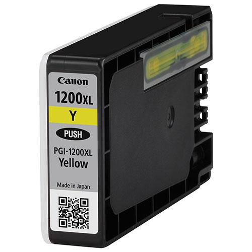 Cartouche d'encre jaune PGI-1200XL de Canon (9198B001)