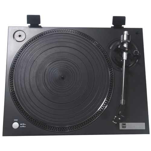 Dual DT250 Semi-Automatic Turntable - English