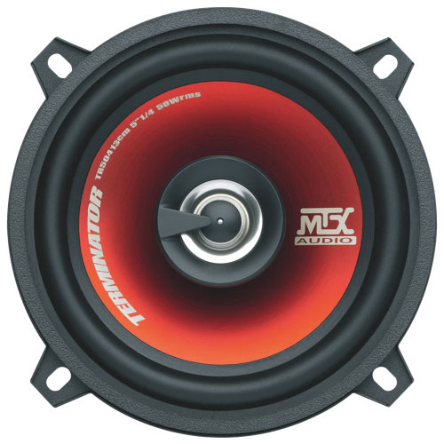 "MTX Terminator Red 5.25"" 2-Way Coaxial Car Speaker (TR504) - Pair"