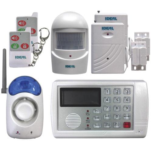 Système de sécurité sans fil avec avertisseur téléphonique d'Ideal Security (SK634)