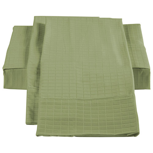 The St. Pierre Home Collection Bamboo/Cotton Sheet Set - Double/Full - Sage