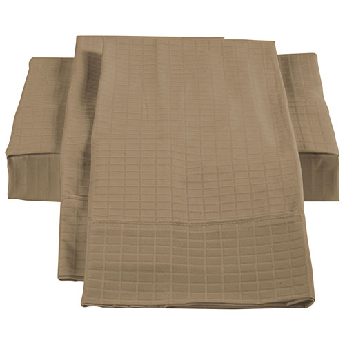 The St. Pierre Home Collection Bamboo/Cotton Sheet Set - Queen - Taupe