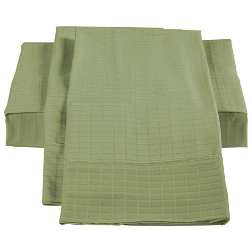 The St. Pierre Home Collection Bamboo/Cotton Sheet Set - Queen - Sage