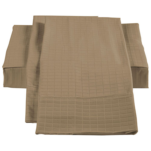 The St. Pierre Home Collection Bamboo/Cotton Sheet Set - King - Taupe
