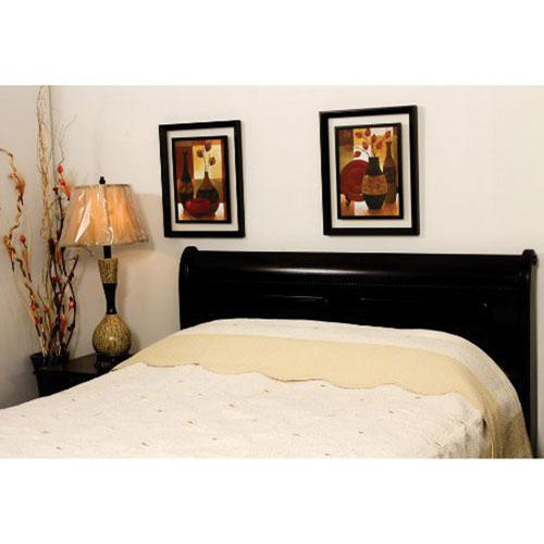 Couvre-lit en coton de St. Pierre Home - Grand lit - Jonquille-naturel