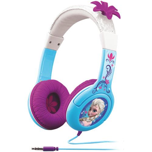KIDdesigns Frozen Elsa Cool Tunes Over-Ear Headphones (FR-140)