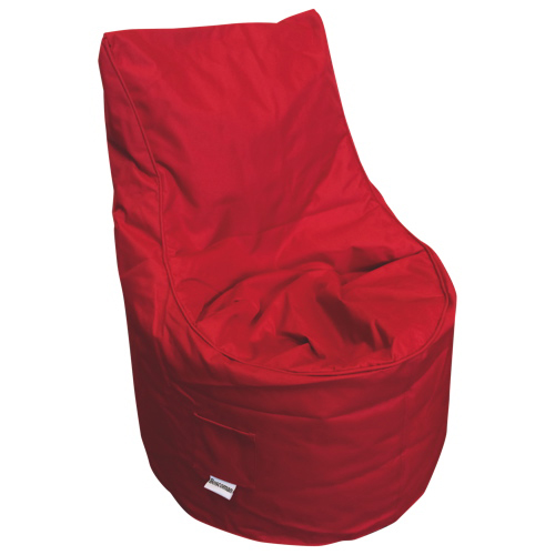 Contemporary Euro Bean Bag Chair - Red