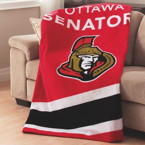 Sunbeam NHL Heated Fleece Throw (TSF8UP-R413-51A50) - Ottawa Senators