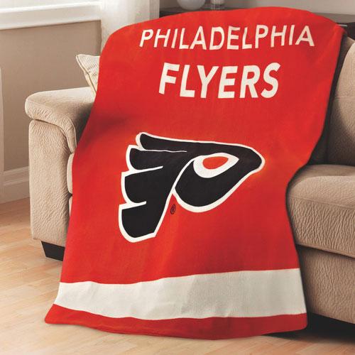 Sunbeam NHL Heated Fleece Throw (TSF8UP-R407-51A50) - Philadelphia Flyers