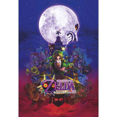 The Legend Of Zelda: Majora's Mask 3D (3DS) - Previously Played