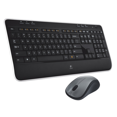 Logitech Wireless Keyboard & Mouse Combo (MK520) - Black