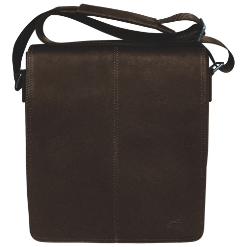 Mancini Colombian Collection Tablet/E-reader Messenger Bag(98226-BN) - Brown
