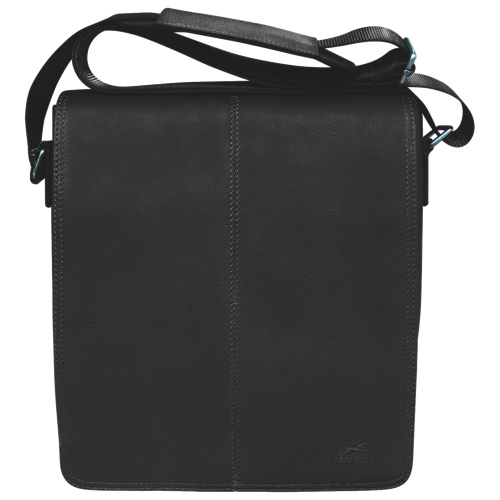 Mancini Colombian Collection Tablet/E-reader Messenger Bag (98226-BK) - Black