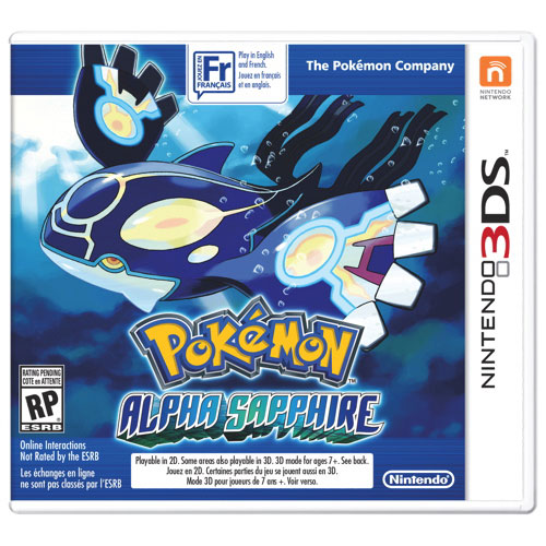 Pokémon Alpha Sapphire (3DS) - Previously Played
