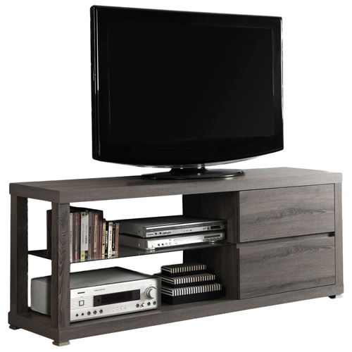 "Monarch TV Stand for TVs Up To 60"" - Dark Taupe"