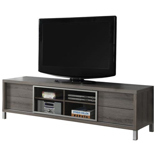 "Monarch TV Stand for TVs Up To 70"" - Dark Taupe"