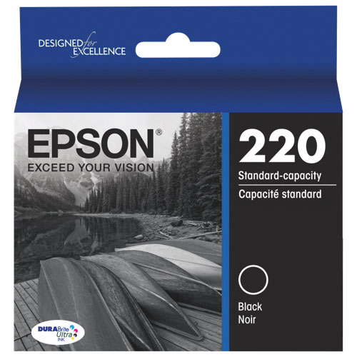 Epson DURABrite Ultra T220 Black Ink (T220520-S)