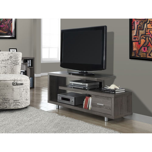 """Monarch TV Stand for TVs up to 60"""" (I 2574) - Dark Taupe"""