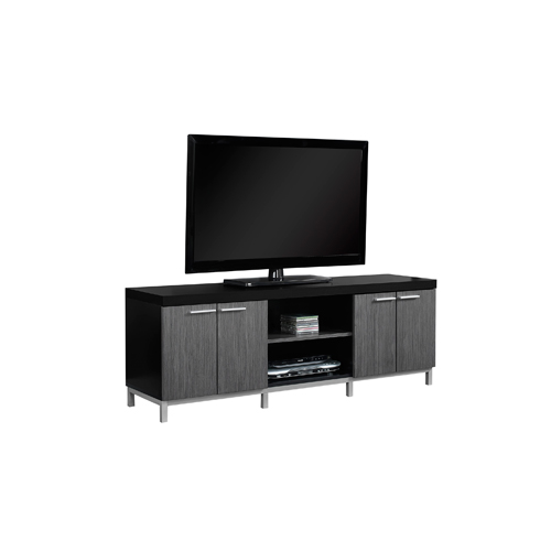 "Monarch TV Stand for TVs up to 60"" (I 2590) - Black/Grey"
