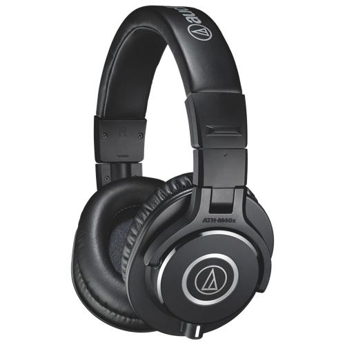 Casque d'écoute à isolation sonore d'Audio-Technica (ATH-M40x) - Noir