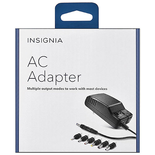 Insignia 7-Tip AC Adapter Set (NS-AC501-C)
