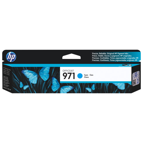HP 971 Cyan Ink (CN622AM)