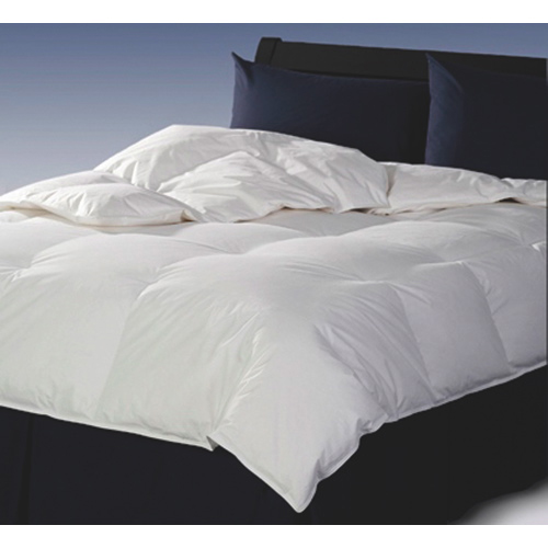 Sleep Solutions 240 Thread Count Cotton 4-Seasons Duck Feather Duvet - Double/Queen - White