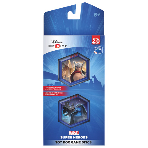 Disney Infinity 2.0 Assault On Asgard / Escape From The Kyln Game Discs