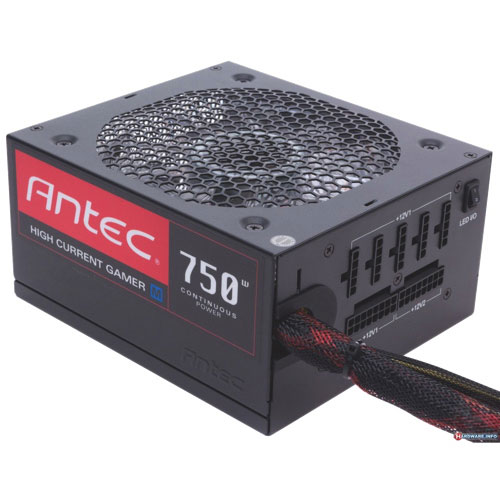 Antec HCG M 750-Watt High Current Power Supply (HCG-750M)