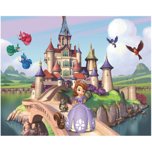Disney Castle 3D Wall Art Frame
