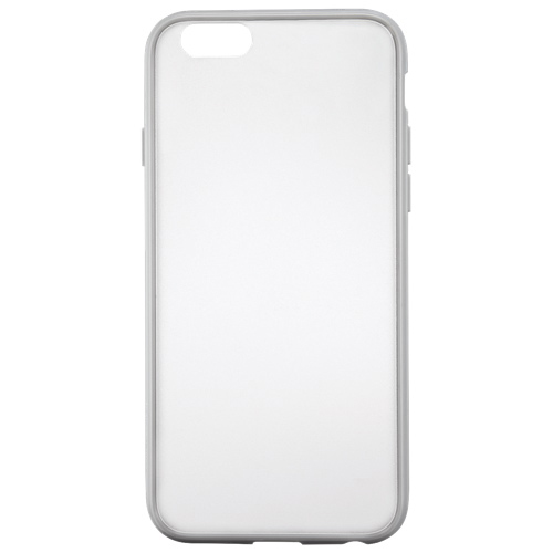 Insignia iPhone 6/6s Fitted Hard Shell Case - Clear/Grey