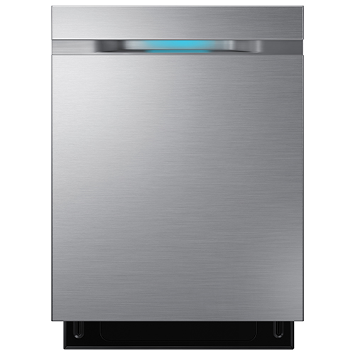 "Samsung 24"" 44 dB Tall Tub Built-In Dishwasher w/ Stainless Steel Tub (DW80J7550US) -Stainless Steel"