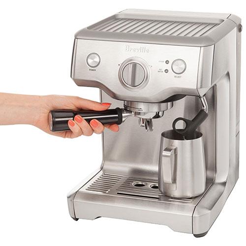 breville duotemp pro pump espresso machine bes810bssxl silver espresso machines best buy canada