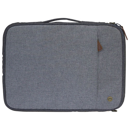 "PKG Stuff 13"" Polyester Laptop Sleeve (LS01-13-DRI-LGRY) - Light Grey"