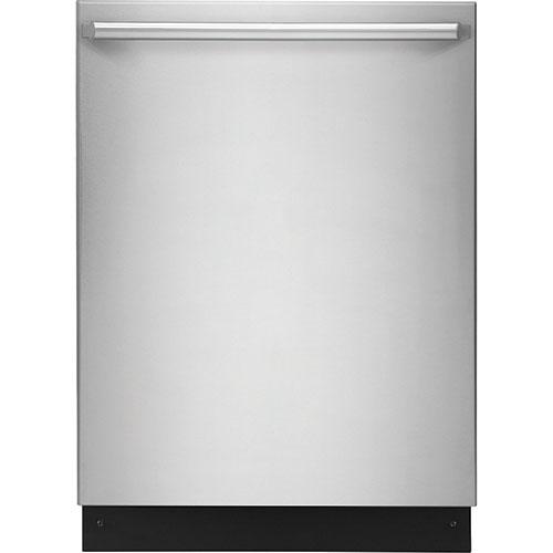 Lave-vaisselle encastrable 24 po 45 dB d'Electrolux avec cuve acier inox et 3e panier - Acier inox