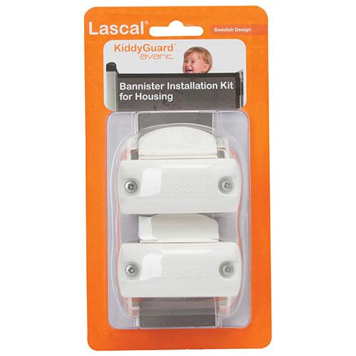 Lascal KiddyGuard Accent/Avant Banister Kit Housing - White : Baby ...