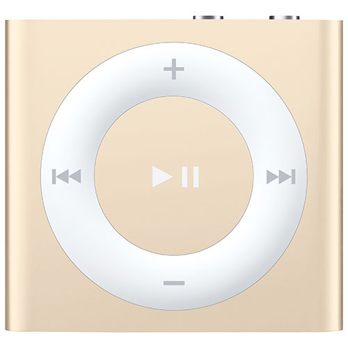 Apple iPod shuffle 4th Generation 2GB - Gold