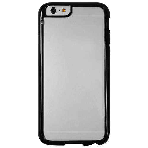 Logiix Gel Guard iPhone 6 Fitted Soft Shell Case - Clear/Black