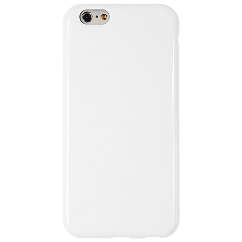 Logiix Gelly Shell iPhone 6 Fitted Soft Shell Case - White
