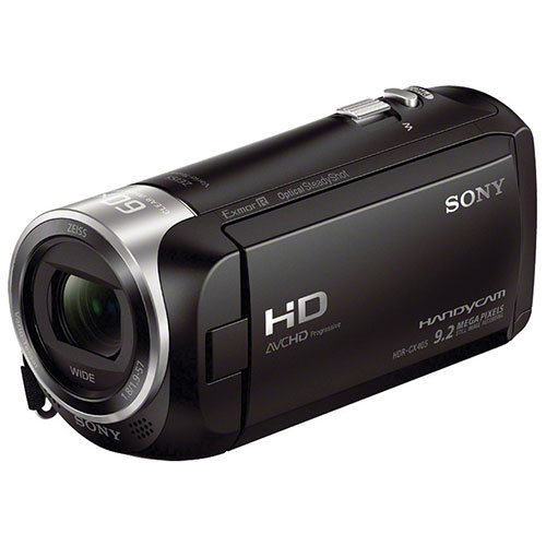 Sony HDR-CX405B HD Flash Memory Camcorder Bundle
