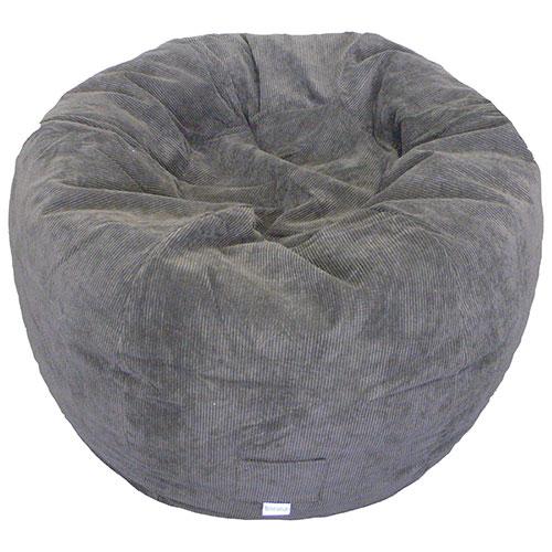 Incredible Contemporary Round Bean Bag Chair Blue Creativecarmelina Interior Chair Design Creativecarmelinacom