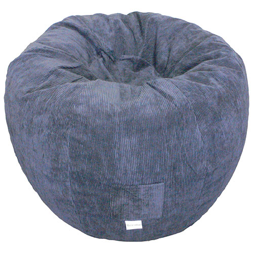 Contemporary Corduroy Bean Bag Chair Navy Kids Amp Teens
