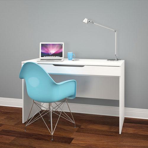 arobas modern computer desk white desks workstations best buy canada. Black Bedroom Furniture Sets. Home Design Ideas