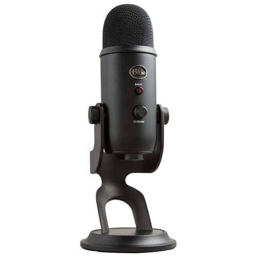 Blue Microphones Yeti USB Microphone - Black   Wireless Mics - Best Buy  Canada 3cbe20480b07